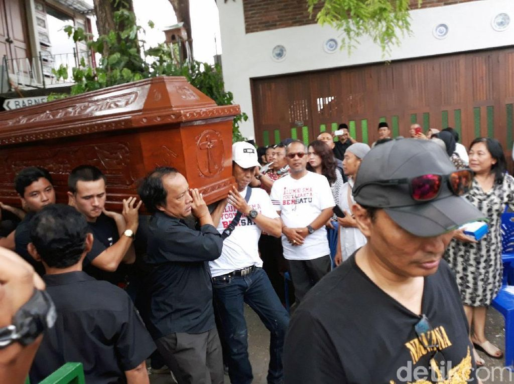 Djaduk akan dimakamkan di Dusun Sembungan, Bantul, Yogyakarta.Pradita Rido Perdana/detikHOT