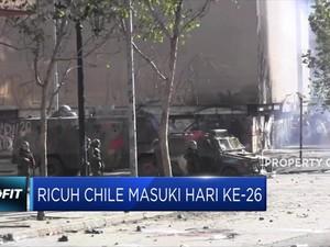 Demo Chile Masuki Hari ke-26