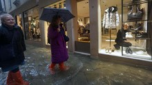 Venesia Masih Direndam Banjir, Italia Umumkan Kondisi Darurat