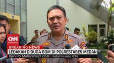 VIDEO: Kronologi Dugaan Ledakan Bom di Polrestabes Medan
