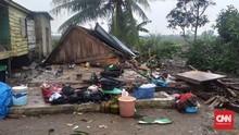 Angin Kencang Landa Banyuasin, 82 Rumah Roboh 2 Warga Terluka