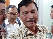 Luhut Pastikan Kantor Jokowi Pindah ke Ibu Kota Baru di 2024