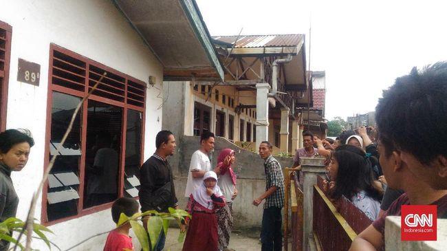 Kesaksian Tetangga Pelaku Bom Bunuh Diri Bom Medan