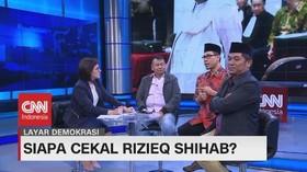 VIDEO: Tanda Tanya Pencekalan Rizieq Shihab