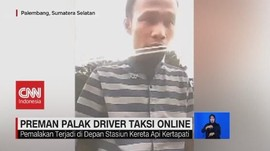 VIDEO: Viral Preman Palak Sopir Taksi Online di Palembang