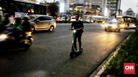 Pengguna GrabWheels Dianggap Rentan di Jalanan Seperti Lansia