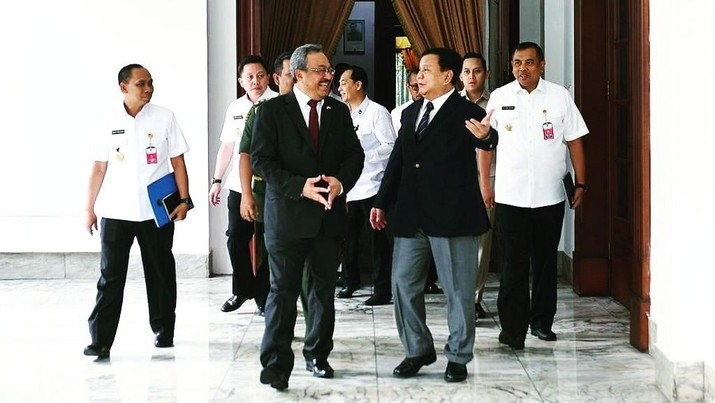 Menhan Prabowo Temui Dubes Malaysia, Bahas Apa?