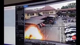 VIDEO: Korban Bom Polrestabes Medan