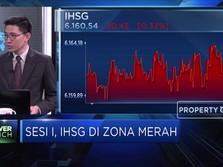 Sentimen Negatif Global Kembali Dorong Pelemahan IHSG