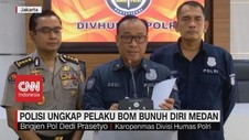 VIDEO: Polisi Ungkap Pelaku Bom Bunuh Diri di Medan