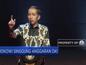 Jokowi Singgung Kriminalisasi Anggaran DKI
