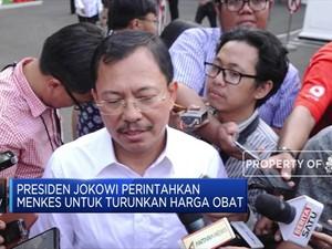 Presiden Jokowi Perintahkan Menkes Turunkan Harga Obat