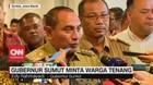 VIDEO: Gubernur Sumut Minta Warga Tenang