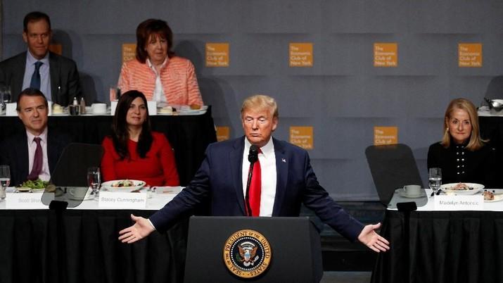 OECD: Trump dan Kebijakannya Picu Ekonomi Global Melambat