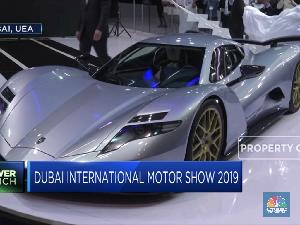 Deretan Mobil Mewah di Dubai International Motor Show 2019