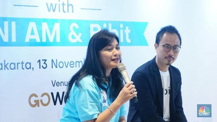 BNI Asset Management (BNI-AM) mengapresiasi BIBIT sebagai salah satu agen penjual efek reksa dana (APERD) Fintech. (CNBC Indonesia)
