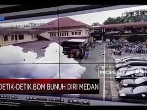 Begini Detik-detik Ledakan di Polresta Medan