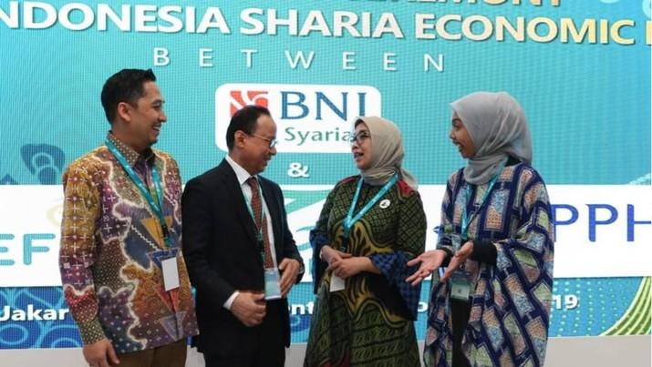 BNI Syariah mencatatkan empat kesepakatan bisnis dalam acara business matching pada pembukaan Indonesia Sharia Economic Festival (ISEF)