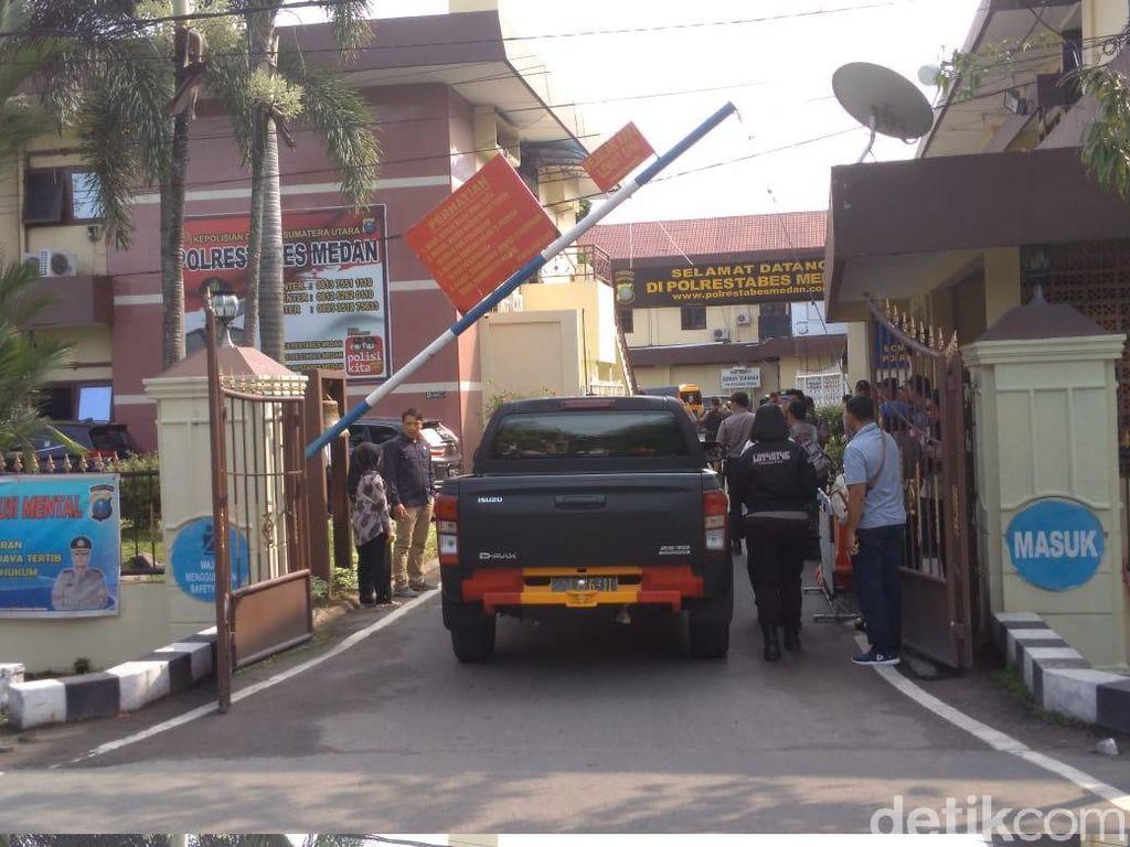Densus 88 juga sudah terjun ke lokasi (Foto: Datuk Haris Molana/detikcom)