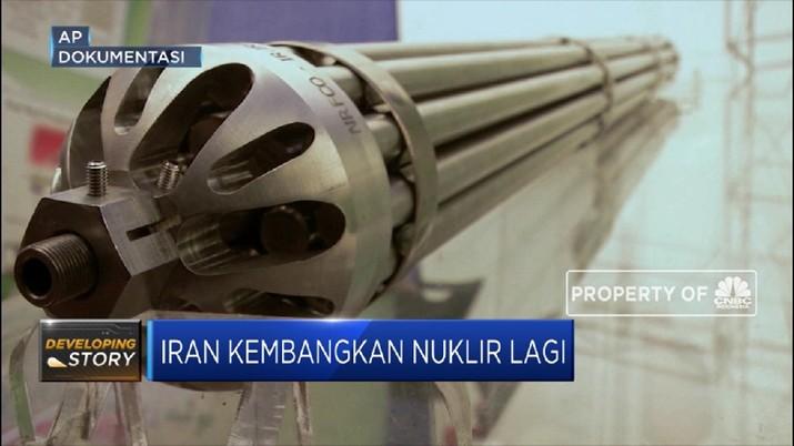 Ini Komentar Terbaru Iran Soal 'Perang Nuklir' dengan Eropa