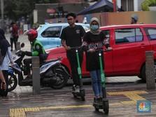 Skuter Listrik Dilarang di Jalan Raya, Ini Respons Grab