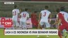 VIDEO: Laga Timnas U-23 Indonesia Vs Iran Berakhir Imbang