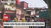 VIDEO: Rumah Guru Pelaku Bom Bunuh Diri Digeledah