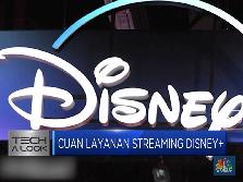 Kantongi 10 Juta Pelanggan, Saham Disney Melonjak 7,32%