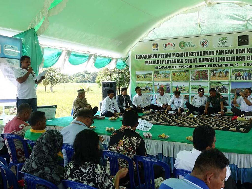 Pemaparan ini disampaikan di hadapan para peserta dalam gelar teknologi lokakarya petani sektor unggulan padi organik di Bontang, Kalimantan Timur.