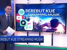 Berebut Kue Streaming Musik