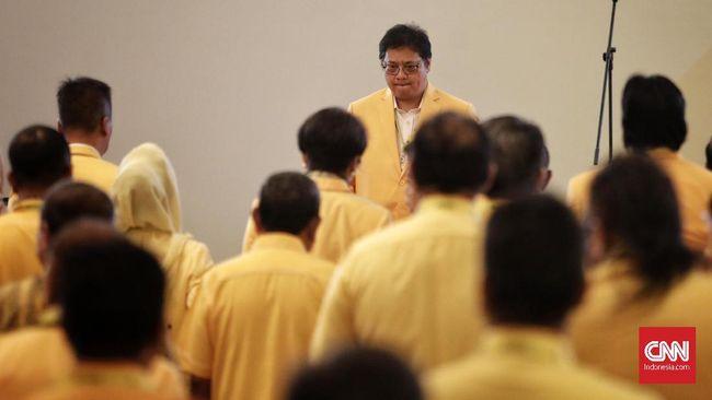 Airlangga Jamin Tak Pecat Bamsoet dari Ketua MPR saat Munas