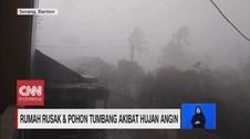 VIDEO: Hujan Disertai Angin Landa Sejumlah Daerah