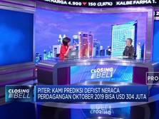 Ekonom: Neraca Perdagangan Oktober Diproyeksi Defisit USD 304