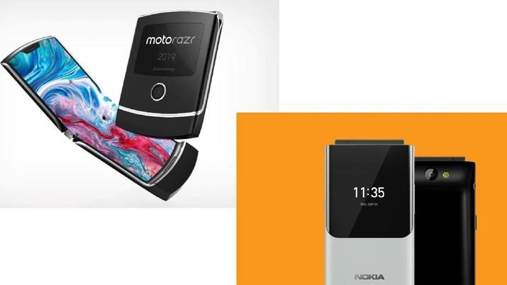 Motorola Razr Vs Nokia Flip, Ponsel Lipat Jadul Bangkit Lagi?