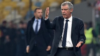 Pelatih Portugal Muak Dicecar Pertanyaan Soal Insiden Ronaldo
