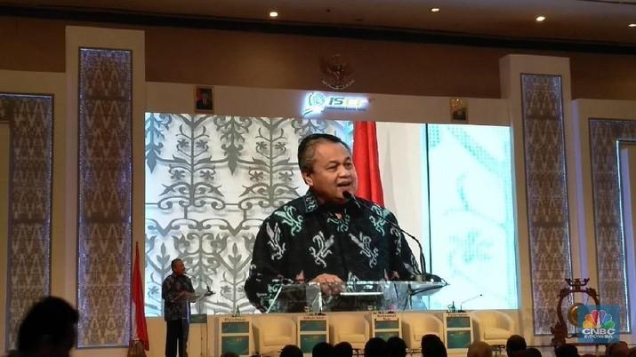 Bank Indonesia (BI) mencatat aliran modal asing masuk (inflow) hingga 21 November 2019 sebesar Rp 220,9 triliun (year to date/ytd).
