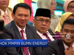 Ahok Pimpin BUMN Energi?
