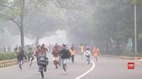 VIDEO: India Gelar Lomba Lari di Tengah Kabut Asap