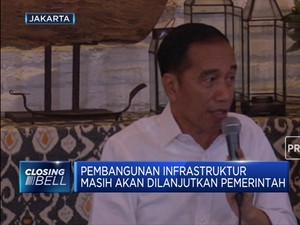 Jokowi: Pembangunan Infrastruktur Harus Dilanjutkan