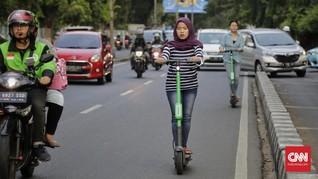 GrabWheels 'Ngotot' Masuk Jakarta Meski Regulasi Belum Siap