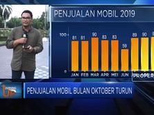 Penjualan Mobil Bulan Oktober Turun