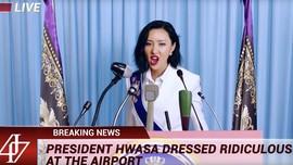 Hwasa MAMAMOO Jawab Komentar Jahat soal Fesyen Lewat 'HIP'
