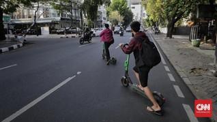 Dianggap Berbahaya, Dishub DKI Larang GrabWheels di Jalanan