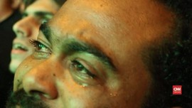 VIDEO: Sorak dan Tangis Suporter Irak Usai Menang Atas Iran