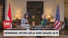 VIDEO: Menimbang Untung Kerja Sama Dagang AS-RI