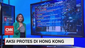 VIDEO: Perjalanan Panjang Aksi Pro-demokrasi Hong Kong