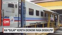 VIDEO: KAI 'Sulap' Kereta Ekonomi Rasa Eksekutif
