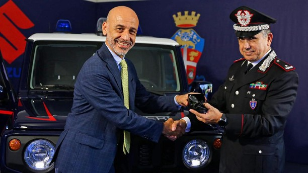 Wujud Jimny Jadi Mobil Dinas Polisi Militer