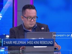 Technical Rebound, IHSG Menutup Akhir Pekan di Zona Hijau