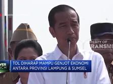 Jokowi Akan Resmikan Ruas Tol Terbanggi Besar-Kayu Agung
